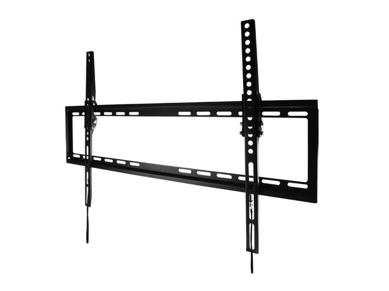 Monoprice Ez Series Low Profile Tilt Tv Wall Mount Bracket For Led Tvs Up To 70in, Max Weight 77 Lbs., Vesa Patterns Up To 600x400, Ul Certified
