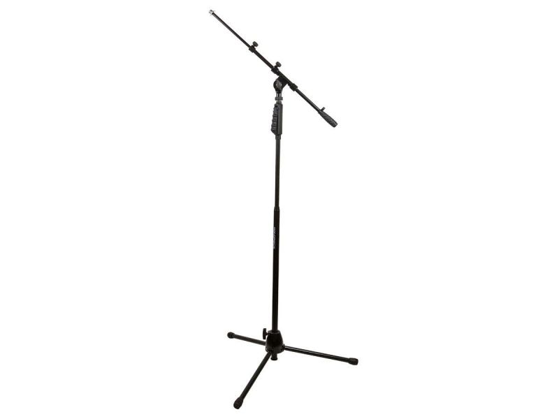 Monoprice Microphone Stand With Hand-clutch And Telescopic Boom