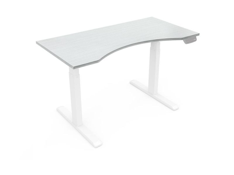 Workstream By Monoprice Table Top For Sit-stand Height Adjustable Desk, 5ft White