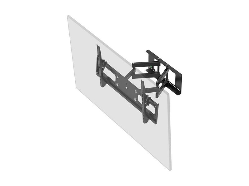 Monoprice Ez Series Full-motion Articulating Tv Wall Mount Bracket For Led Tvs 37in To 70in, Max Weight 132 Lbs, Extension Range Of 3.7in To 20.1in, Vesa Up To 800x400, Works With Concrete And Brick