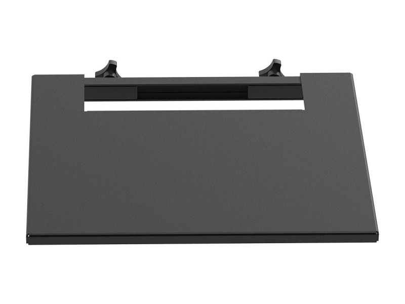 Monoprice Commercial Series Equipment Shelf, Max Weight 11 Lbs, Black