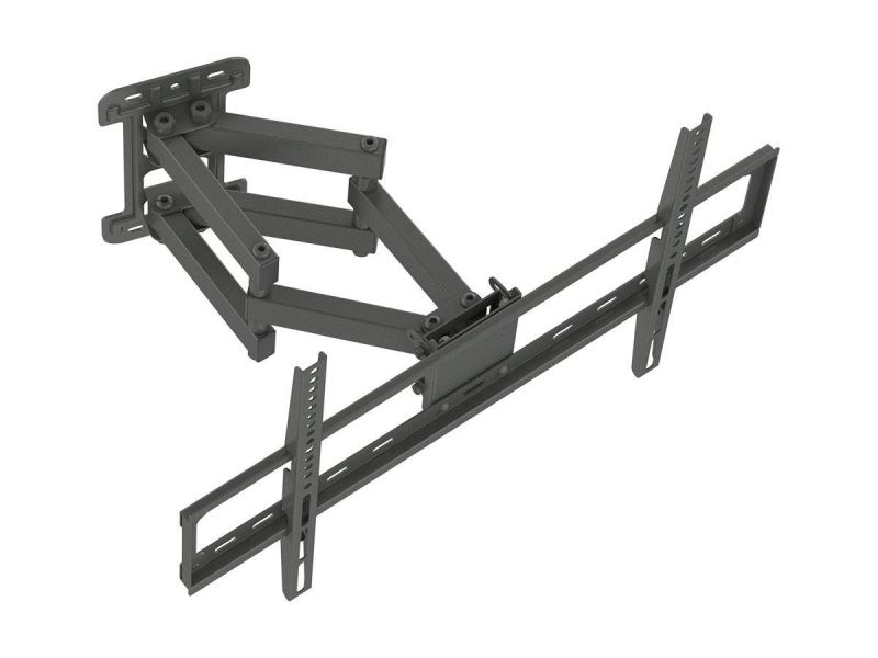Monoprice Commercial Series Full-motion Articulating Tv Wall Mount Bracket For Led Tvs 37in To 70in, Max Weight 99lbs, Vesa Patterns Up To 600x400, Rotating