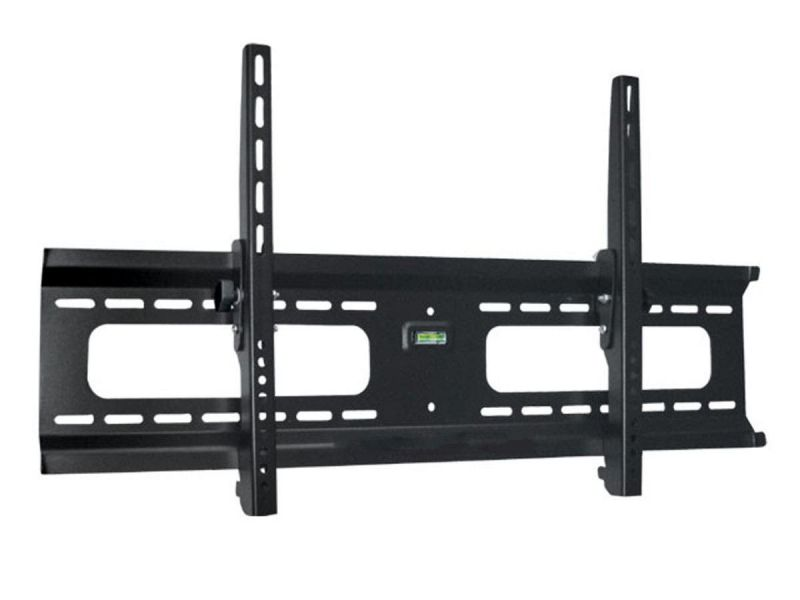 Monoprice Commercial Series Wide Low Profile Tilt Tv Wall Mount Bracket - For Tvs 37in To 70in, Max Weight 165 Lbs, Vesa Patterns Up To 800x400, Works With Concrete And Brick, Ul Certified, No Logo