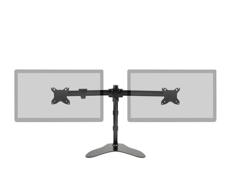Monoprice Dual Monitor Free Standing Desk Mount 15~30In