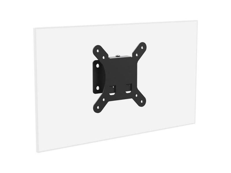 Monoprice Slimselect Series Low Profile Fixed Tv Wall Mount Bracket - For Led Tvs 10in To 26in, Max Weight 30 Lbs, Vesa Patterns Up To 100x100