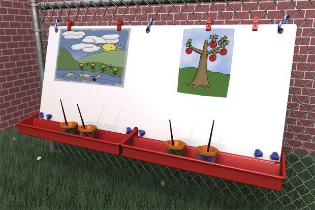 Double Fence Easel