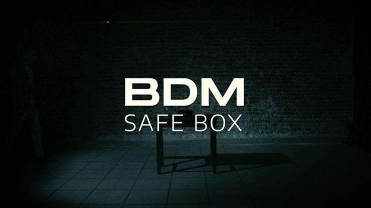 Bdm Safe Box (gimmick And Online Instructions) By Bazar De Magia - Trick