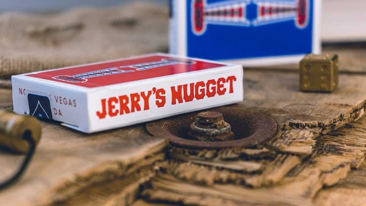 Jerry's Nuggets Shim Card (Red) By The Hanrahan Gaff Company