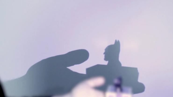 Shadow Art (bat Man) By Mathieu Bich - Trick