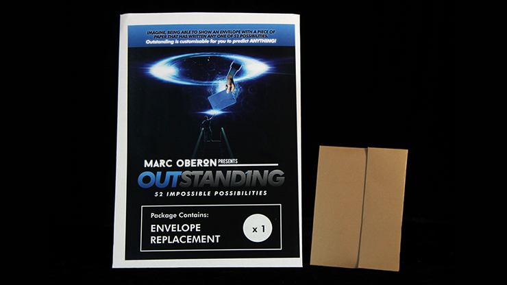 Outstanding Refill Envelope By Marc Oberon - Trick