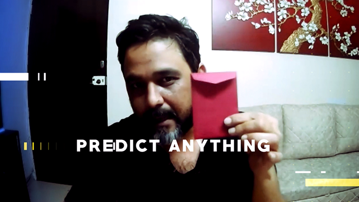 Virtual Prediction (gimmick And Online Instructions) By Manoj Kaushal - Trick