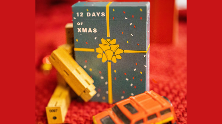 12 Days Of Christmas Playing Cards