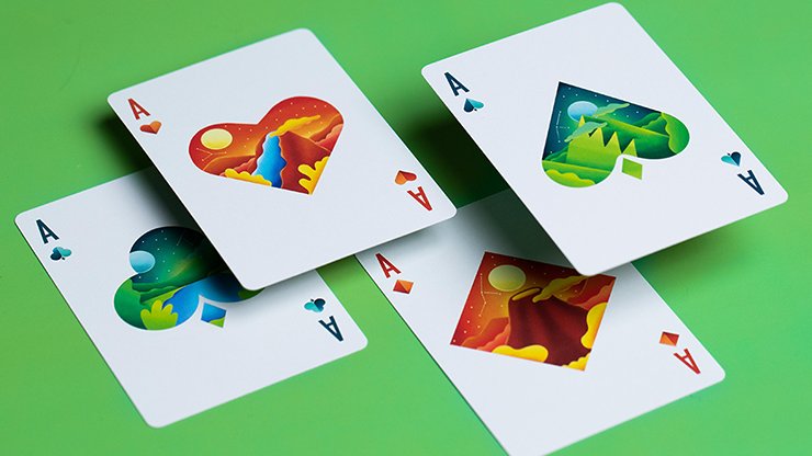 Adventure Playing Cards By Riffle Shuffle