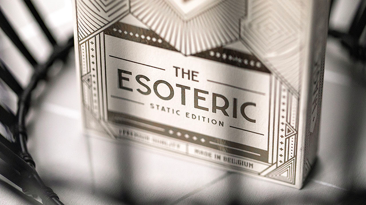 Esoteric: Static Edition Playing Cards By Eric Jones