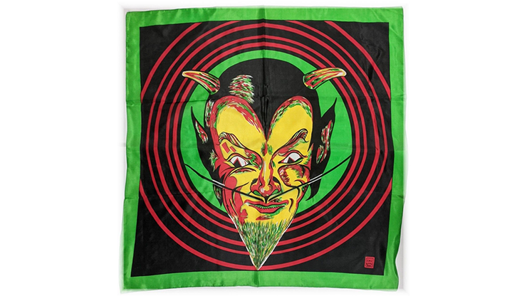 """Rice Picture Silk 27"""" (devil) By Silk King Studios - Trick"""