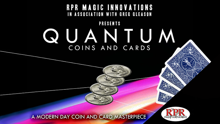 Quantum Coins (Euro 50 Cent Red Card) Gimmicks And Online Instructions By Greg Gleason And Rpr Magic Innovations