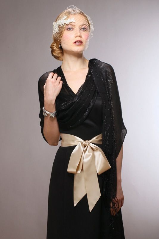 Luxurious Mesh Evening Or Prom Wrap