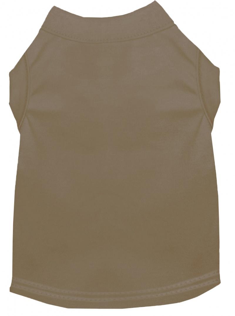 Plain Pet Shirts Tan Xxl