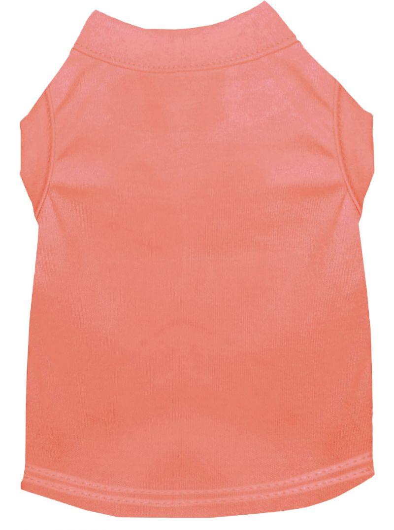 Plain Pet Shirts Peach 5x