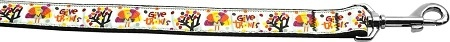 Give Thanks 1 Inch Wide 6Ft Long Leash