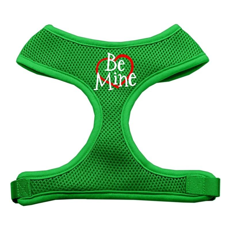 Be Mine Soft Mesh Pet Harness Emerald Green Small