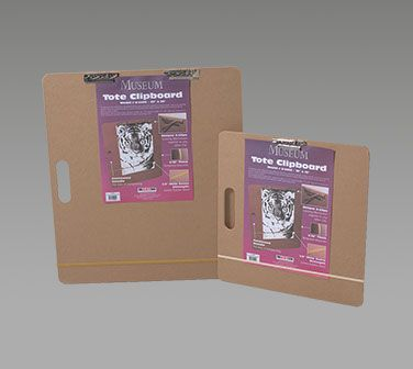 """Museum® 18"""" X 18"""" Universal Tote Clipboard"""
