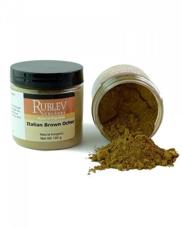 Rublev Colours Italian Brown Ocher Oil Pigment