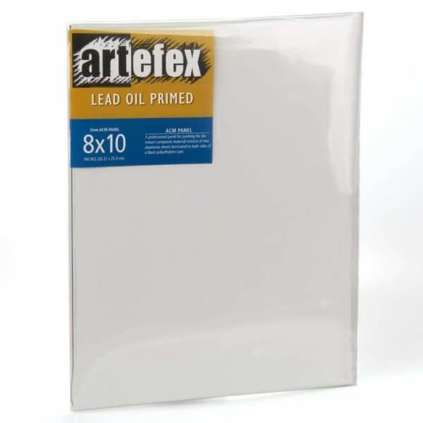 Lead Oil-primed Fine Linen 16x16
