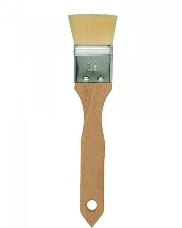 White Hog Bristle Hair Mottler 1.5-inch