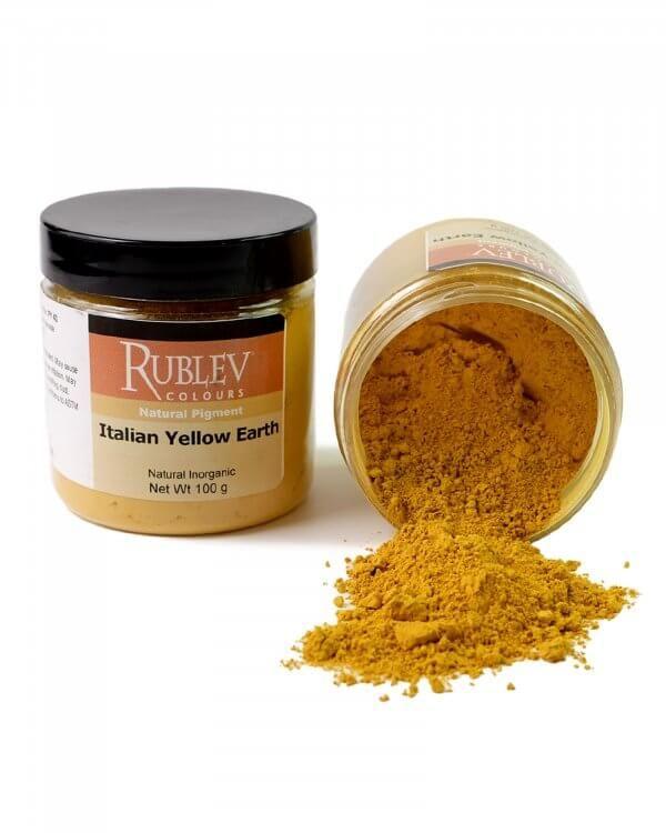 Rublev Colours Italian Yellow Earth Oil Pigment