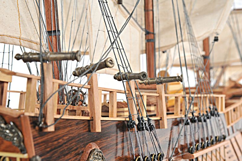 Hms Endeavour Open Hull
