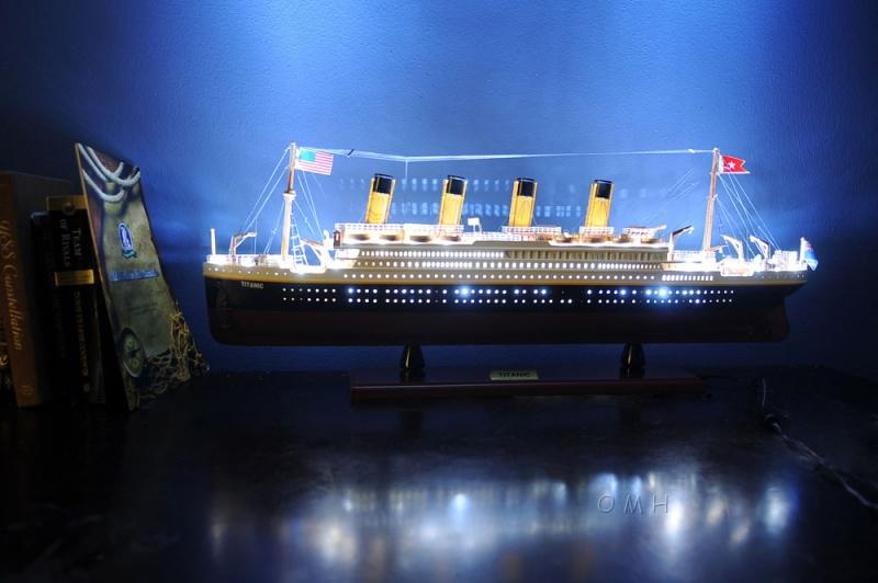 Titanic With Lights
