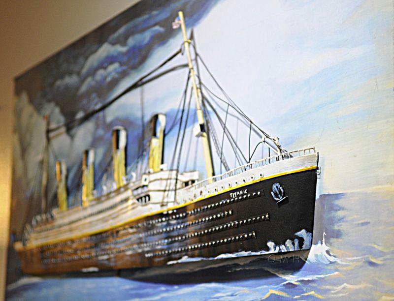 Titanic 3D Painting