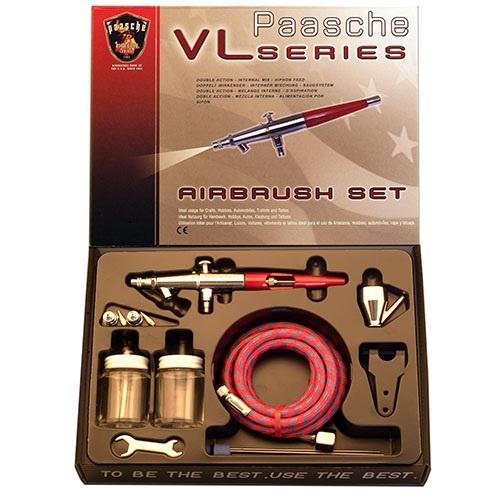 Paasche VL-202S Airbrush Set