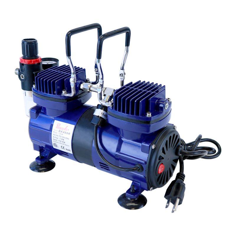 Paasche DA400R Air Compressor with Auto Shutoff and Regulator