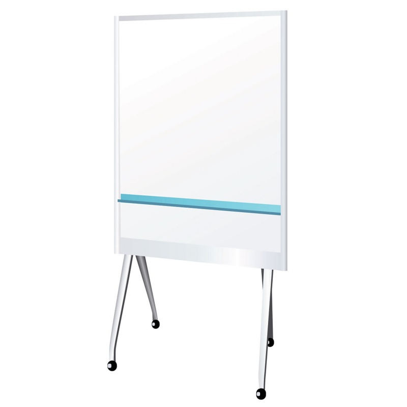 Mobile Partition Board - Light Grey