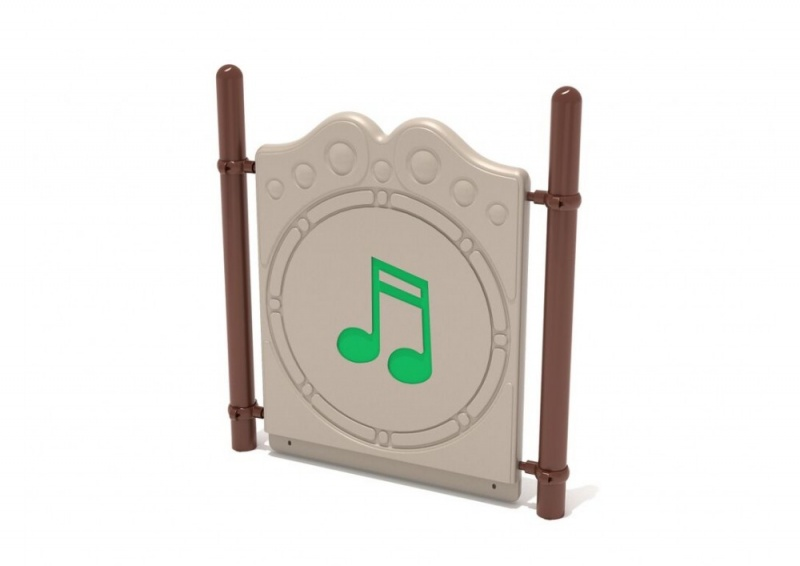 Freestanding Chime Panel With Posts