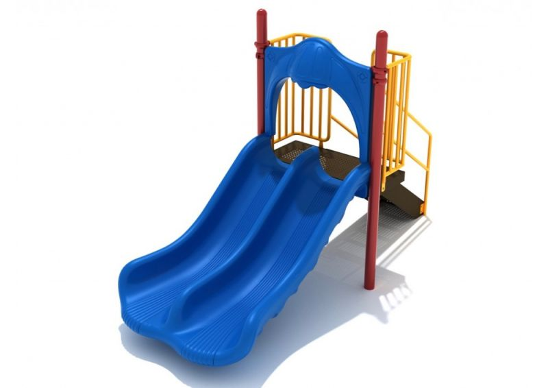 3 Foot Double Straight Slide