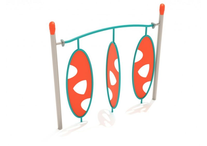 Single Post Triple Wing Climber