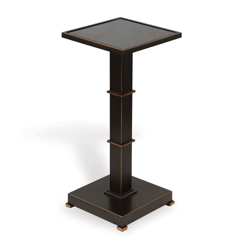 Blake Bronze Accent Table