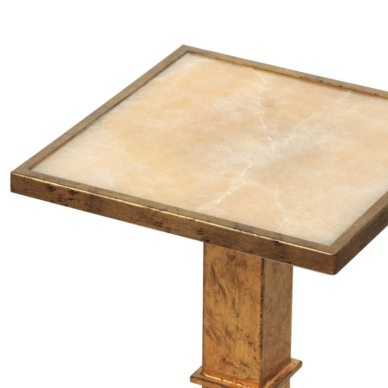 """Blake Gold Accent Table 23""""h"""