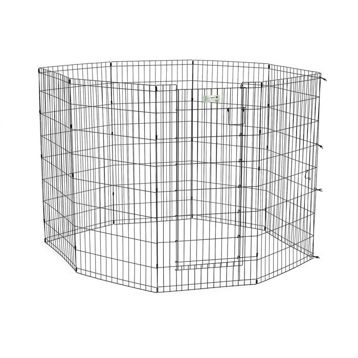 Life Stages Pet Exercise Pen With Door 8 Panel