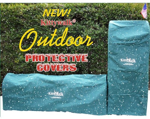 Outdoor Protective Cover For Kittywalk Curves (2)