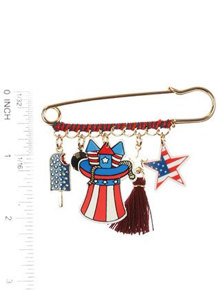 Stars And Stripes Charm Popsicle
