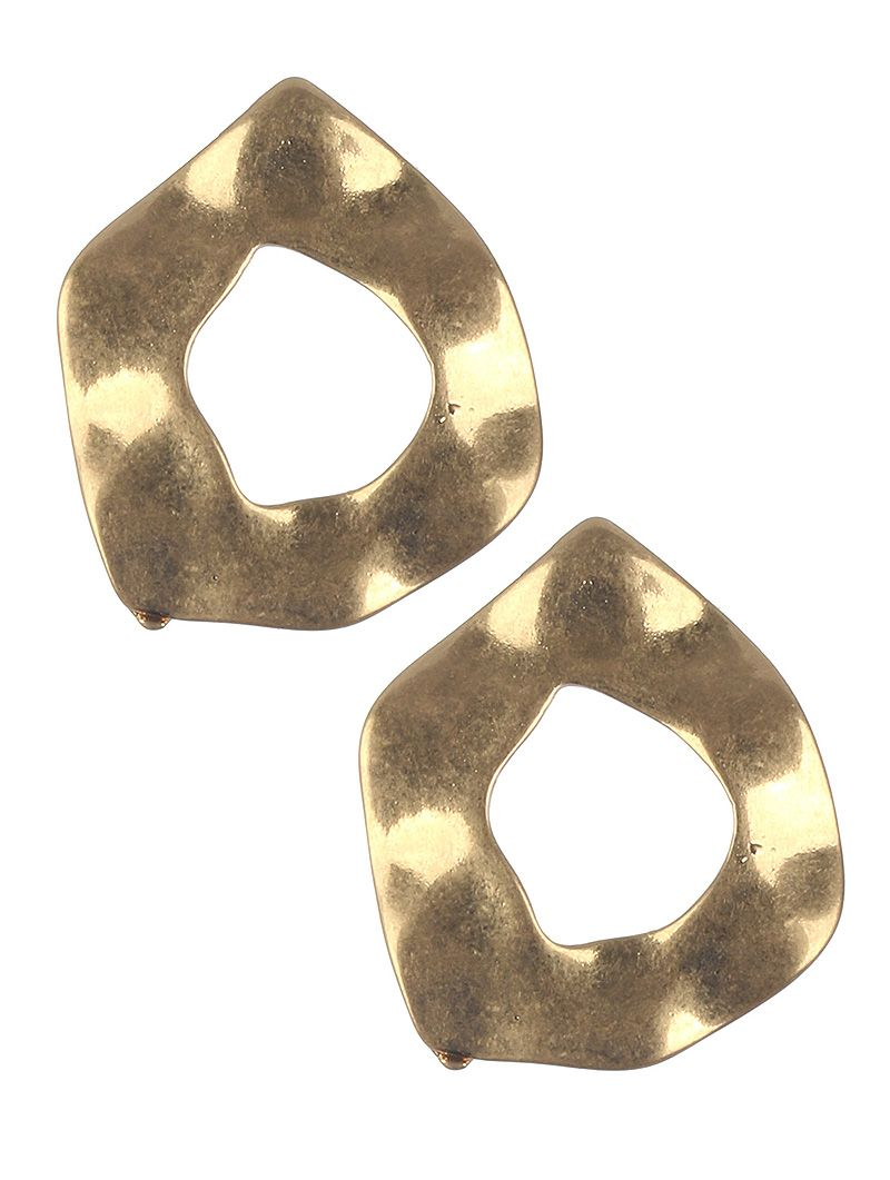 Matte Finish Wavy Cutout Metal Irregular Shape