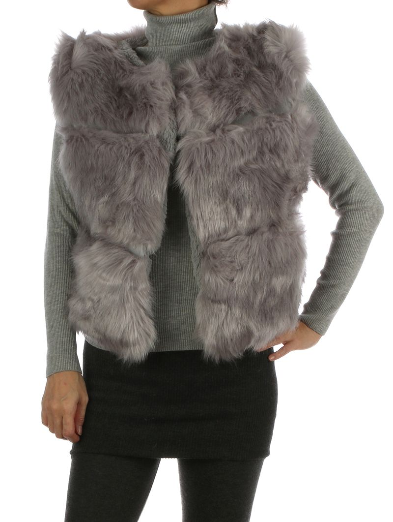 Russian Style Ribbed Soft Fur Hook Closure