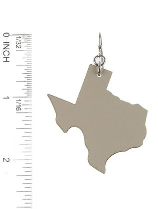 State Of Texas Faux Leather Light Weight