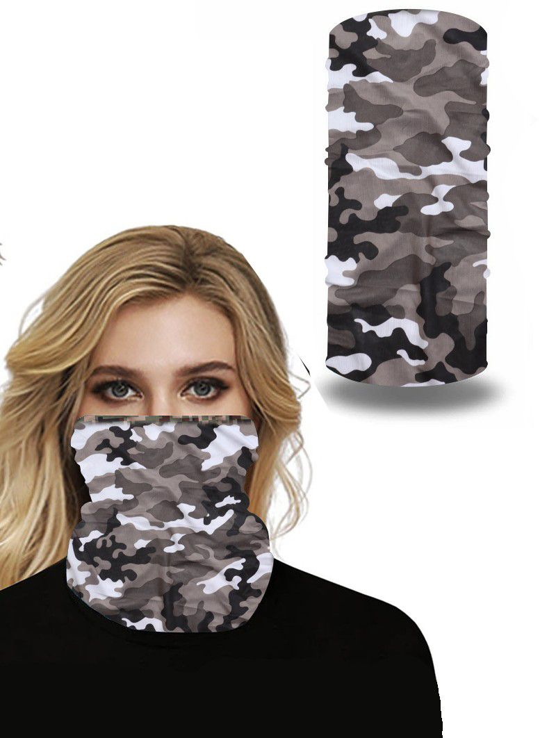 Face Cover Mask Camouflage Outdoor Sports Cycling 97 Polyester 3 Spendex Summer Mask