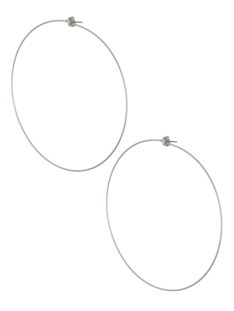 Matte Finish Wire Hoop Post Pin