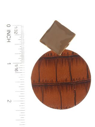 Post Pin Leather Epoxy Coating